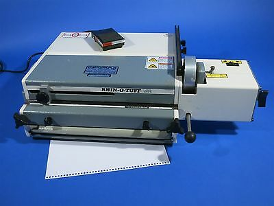 Rhin-o-tuff Punch OD4000 Coil Punch / Plastic Coil Inserter with OD4300 4:1