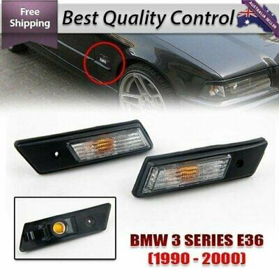 Turn signals lamp Side Blinker Light Marker Suits BMW E34 E36 3or5-series 89-94