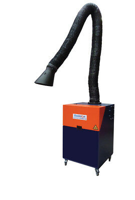 Allclear Clearmaster German Made 1Hp Portable Fume Extractor Unit 240V Incl 3M A