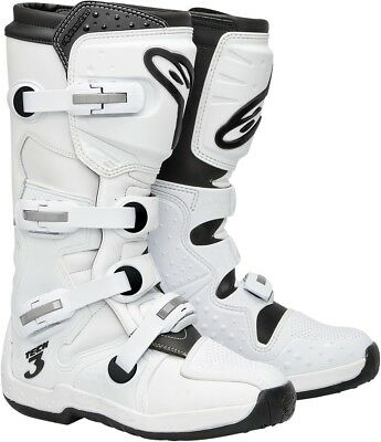 Alpinestars Tech 3 Adult Offroad Boots Super White Size 16