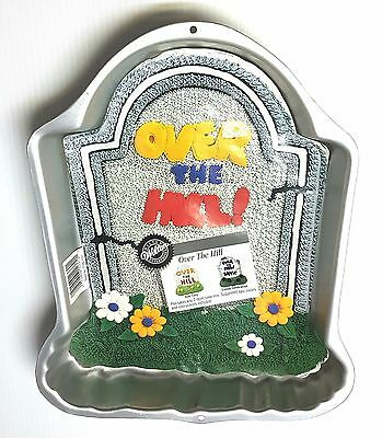 Wilton Over The Hill Tombstone Cake Pan. 2105-1237 - 1995  - NOS