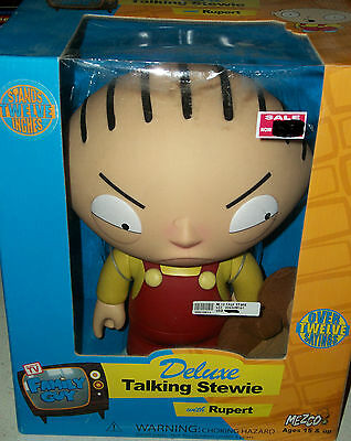 Family Guy Talking Stewie action figure cartoon doll Xmas gift Seth McFarland TV