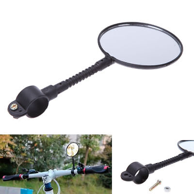 Cycling Bike Bicycle Handlebar Rearview Universal Mirror Flexible Adjustable AU