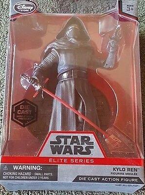 ONLY $4.99!! Star Wars The Force Awakens Kylo Ren Elite Series DieCast  Figure