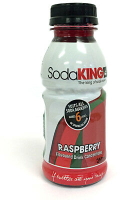 SodaKING Raspberry Syrup 4 Pack - 614235