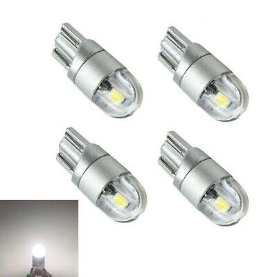 4x T10 Bulbs W5W 501 Canbus Lights LED COB SMD 3030 Bright White Car Error Free