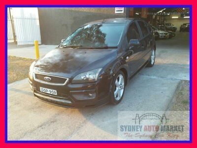 2006 Ford Focus Black Automatic A Hatchback