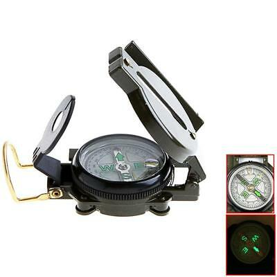 Lensatic Compass Military Outdoor Camping Hiking Army Style Survival Marchingr
