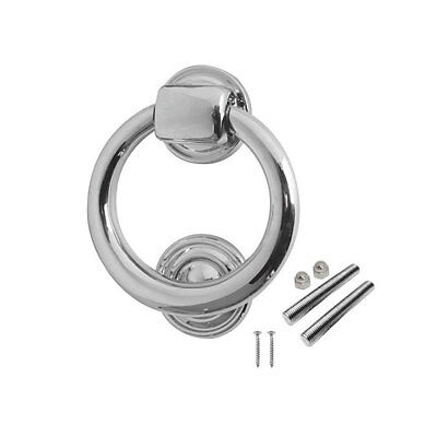 Ring Door Knocker Polished Chrome High Quality
