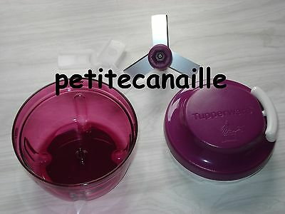 Tupperware TurboTup violet de 300 ml, hachoir manuel