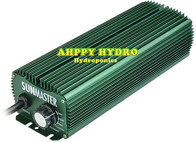 SUNMASTER 600W Dimmable Ballast - hydroponics - lighting equipment