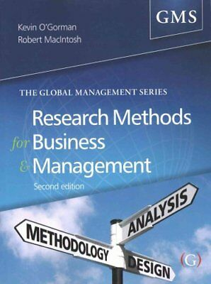 Research Methods for Business and Management a guide to writing... 9781910158517