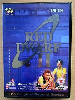Craig Charles Chris Barrie RED DWARF SEASON 2 ~ BBC Cult Sci-Fi Series UK DVD II