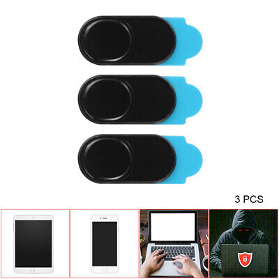 3pcs Webcam Slider Camera Cover Privacy Sticker for Phone Tablet Laptop DC785