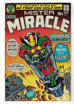 DC comics 1 Mr Miracle Mister justice league VGF 5.0  1971 new movie