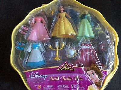 Disney Park Exclusive Belle Polly Pocket size doll