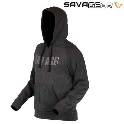 Savage Gear Simply Savage Zip Hoodie - Hoody - (The Collection)