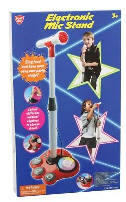 NEW Play Go Electronic Mic Stand from Mr Toys