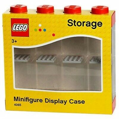 NEW LEGO Minifigure Display Case Red 8 from Mr Toys