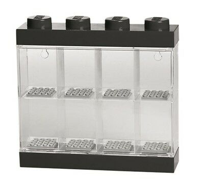 NEW LEGO Minifigure Display Case Black 8 from Mr Toys