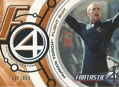 "Fantastic Four Movie - FF001 ""Human Torch Flight Suit"" Costume Card #545/969"