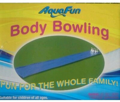 Slip n Slide - Body Bowling - Water Slide, Outdoor, Backyard Party Game + Pins