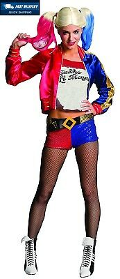 Rubie's Official Harley Quinn Ladies Fancy Dress Halloween Suicide Squad...