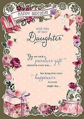 GRANDDAUGHTER PRICELESS GIFT Nice Verse Happy Birthday Card By