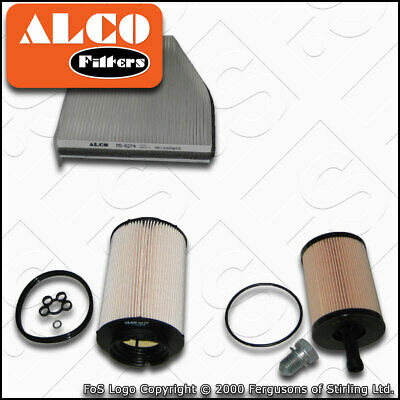 SERVICE KIT AUDI A3 (8P) 1 9 Tdi Oil Air Fuel Cabin Filter