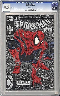 Spider-Man #1 - Stunning Cgc Nm/m 9.8 -  Silver Edition - Simply Perfect