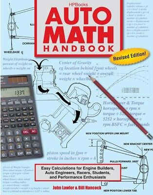 HP Books Auto Math Handbook P/N HP1554