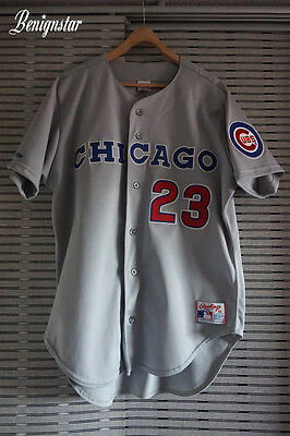 Ryne Sandberg Chicago Cubs 1990 Authentic Baseball Jersey