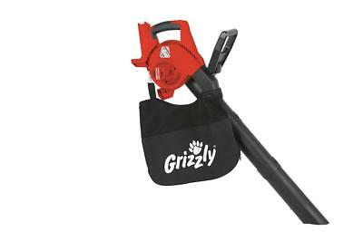 Grizzly Battery Leaf Vacuum ALS 4025 Lion Without Battery/Charger Leaves Blower