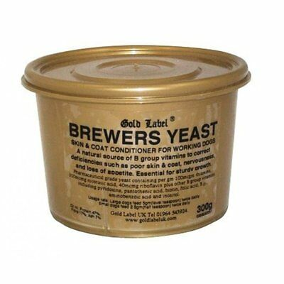 Gold Label Canine Brewers Yeast 300g - Dog Supplement