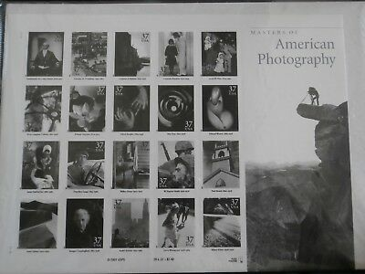 Masters of American Photography USPS stamp issue  collectors delight
