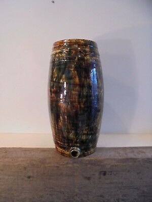 Antique Dunmore Pottery , Scottish Pottery Barrel