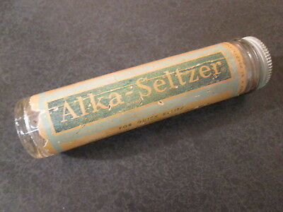 Vintage Alka-Seltzer Bottle