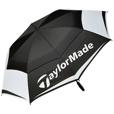 TaylorMade 2017 TM Tour 64 Auto Opening Double Canopy Mens Golf Umbrella New