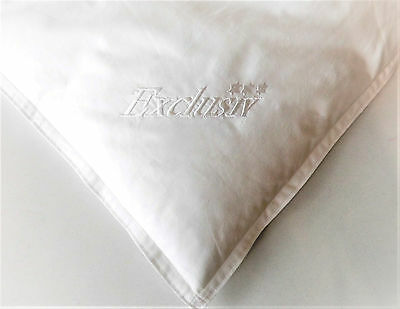 Down Duvet Winter Valuable 155x220 cm. with Indoors/Outdoor Bar and Embroidery