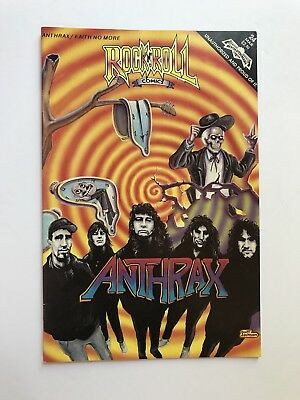 Rock N Roll Comics #24 Anthrax/Faith No More collectible comic book