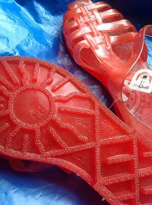 Red Jellies Size 25 Child's