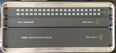 Blackmagic Atem 1 M/E,  Micro Videohub,  VHUB/WSC Control  (all 3 sold together)