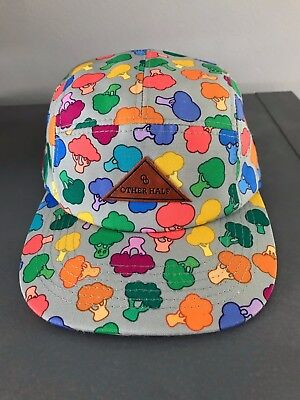 Other Half Brewing DDH Broccoli Five Panel Hat (new, grey, released 09/15/17)