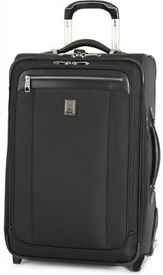 """Travelpro Luggage Platinum Magna 2 22"""" Expandable Rollaboard Carry On - Black"""