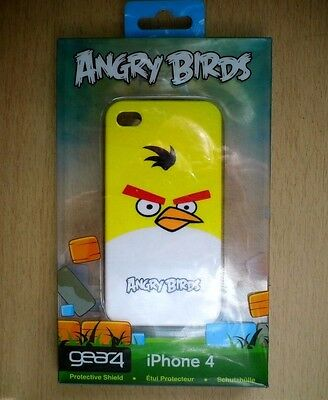 Gear4 Angry Birds Case for Apple iPhone 4 - Yellow Bird (Comes in box)