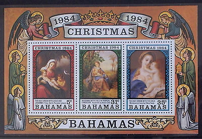 1984 Christmas (MNH miniature sheet)