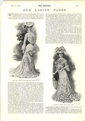 1902 Fancy Gowns For Ascot