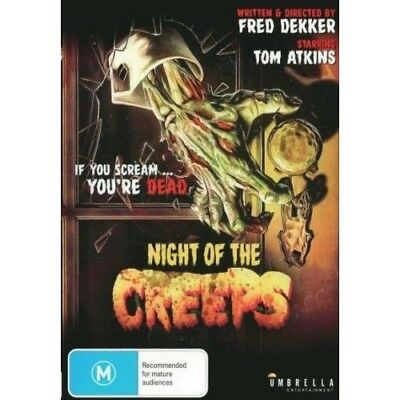 Night Of The Creeps Dvd ( Free Post Brand New)