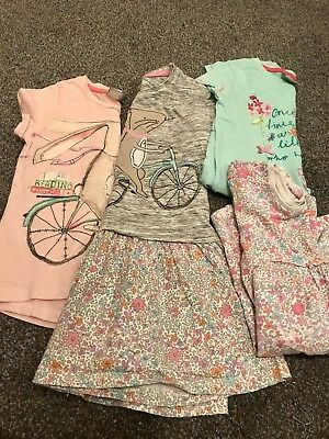 Next Girls Bunny on a Bike Bundle Size 2-3 and 3-4 Years
