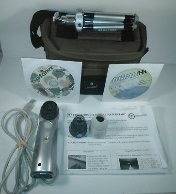 PS-HR-BASE Proscope USB Microscope Bodelin with M0W, M50, and M100 lenses